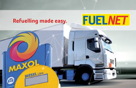 The Maxol Fuelnet Card Ideal for HGV and large commercial vehicles