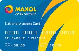The Maxol National Account Card  - Ideal for large fleets of cars and light commercial vehicles
