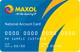 The Maxol National Account Card